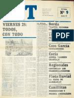 1968 06 27 CGT Rosendo Mingo Zalazar Rosendo Conclusiones