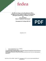 Brechas de Género en los Resultados de PISA  - El Impacto de las Normas Sociales y la Transmisión Intergeneracional de las Actitudes de Género 30-09-2013