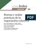 Buenas y Malas Prácticas de La Negociación Colectiva 01-11-2011