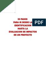 Los 39 Pasos Del Proyecto Jorge González