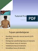 Tutorial Presentation - Obstruksi Saluran Kemih