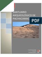 Santuario Arq Pachacamac
