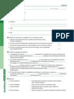 Ficha de Evaluacion de Fenomenos Termicos y Termodinamica