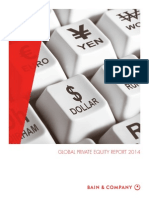 Bain and Company Global Private Equity Report 2014