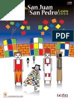 Programa de fiestas de San Juan y San Pedro de León 2014