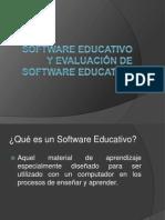 Software Educativo y Su Evaluacion