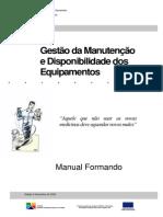 Gestao Da Manutencao e Disponibilidade Dos Equipamentos - Giagi