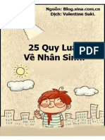 25 Quy Luat Cuoc Song