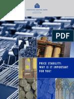 ECB (2011) Price Stability