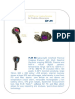 FLIR E6 InfraRed Thermal Imaging Camera With Multi Spectral Dynamic Imaging
