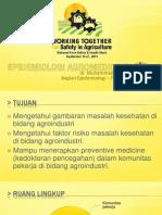 Epidemiologi Agromedicine