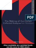 Ivor Goodson-The Making of the Curriculum_ Collected Essays (Studies in Curriculum History) (1995)