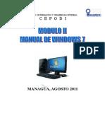 Modulo II Windows 7