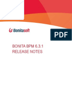 Bonita Bpm 6.3.1 Release Notes