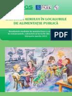 Ţurcanu, G. et al. Calitatea aerului în localurile de alimentaţie publică