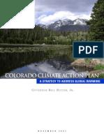 Colorado's Climate Action Plan