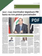 MEF_Plan Reactivador Impulsará PBI en 3%_Gestión 13-06-2014