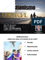 El Cristianismo y La Unión Civil