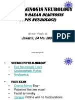 Basic Diagnosis Neurology Dr. Anwar