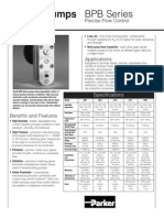 BPB Pumps Data Sheet