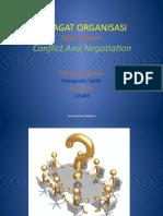 Tugasan Gelagat Organisasi - Conflict & Negotiation