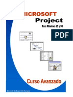 Manual de Project Avanzado
