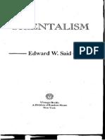132163311 Orientalism Edward Said
