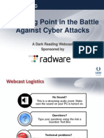 A tipping point in the battle against Cyber attacks
