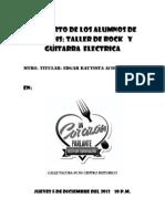 Concierto de Los Alumnos de Taller de Rock y Guitarra Electrica-corazon Parlante