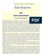 1. Canto Gregoriano Introduccion