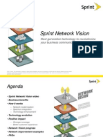 Sprint Network Vision Handout