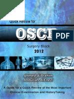 OSCE Surgery Block