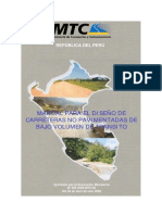 Manual Para El Diseño de Caminos de Bajo Transito