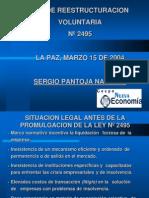 Presentacion Ley2495
