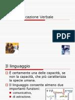 04 La Comunicazione Verbale