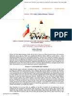 """El Rol de la Cultura en Chile de la Transición_""""Chile = Pinochet"""", y otras sinopsis de los años 90. Por Andrea Jeftanovic. 10 de Octubre 2000"""