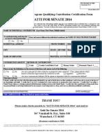 Satti for Senate Contribution Form