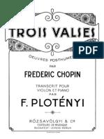 IMSLP45524-PMLP02375-Chopin - Waltz No2 Plotenyi Violin Piano
