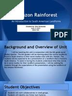 amazon rainforest presentation