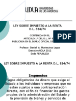 Renta Derecho Tributario III 2012 Udla