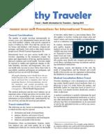 WD D-Healthy Traveler
