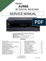 AVR65 Service Manual