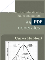 Futuro de combustibles fósiles en México
