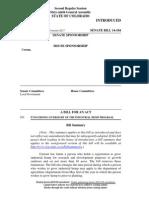 Bill Concerning Oversight of the Industrial Hemp Program