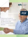 Improving Access to Health Services in French for Manitoba and Prince Edward Island Seniors (Summary)