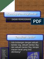 Lecture01-Konsep Pemrograman