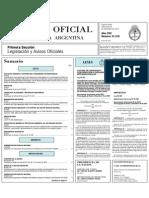 Boletín Oficil26!12!2007leg Ley de Bosques