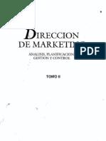 Direccion de Marketing Tomo II Kotler