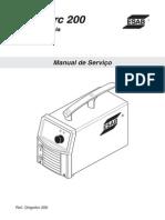 0207497 Rev 2_Manual de Servico OrigoArc 200_pt