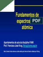 Fundamentos de Espectometria Atômica